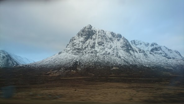 View of Buachaille Etive Mor